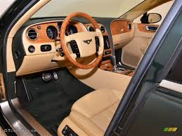 2009 bentley flying spur saffron cumbrian green interior 2009 bentley continental flying