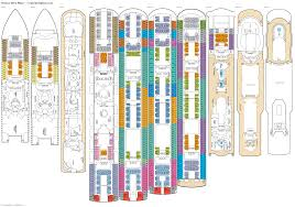 carnival conquest floor plan oceana deck plans diagrams pictures video