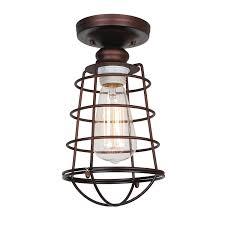 crockett fantasy of lights portfolio industrial flush mount ceiling lights design house 519694
