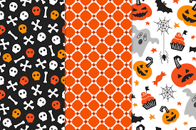 fun halloween repeating background the wicked halloween bundle by thehungryjpeg thehungryjpeg com