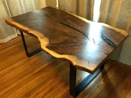 black walnut table for sale black walnut slab dining table furniture sale nj luisreguero com
