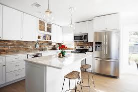 Wood Kitchen Backsplash 5 Ways To Redo Kitchen Backsplash Without Tearing It Out