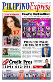pilipino express u2022 dec 1 2016 by pilipino express news magazine
