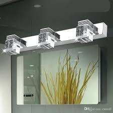 Crystal Bathroom Vanity Light by Sconce Crystal Bathroom Sconce Lighting Crystal Bath Sconces