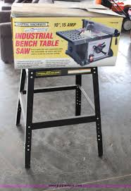 central machinery table saw fence central machinery 10 table saw item az9754 sold j