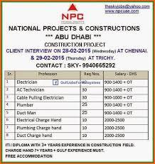 electrical engineering jobs in dubai companies contacts npc dubai abudhabi job vacancies gulf jobs for malayalees