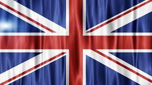Great Britain Flag Uk Collapse Flag Great Britain British England English 4k Motion