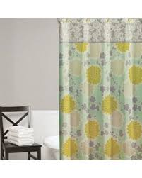 Shower Curtain Sale Holiday Sale Home Classics Flower Shower Fabric Shower Curtain