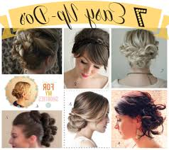 easy to do yourself updos for long hair new hair style collections