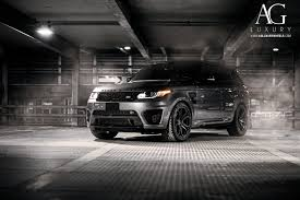 land rover matte ag luxury wheels range rover sport svr forged wheels