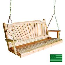 american made porch swings american eco furntiure