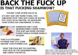Shamwow Meme - image 4432 vince shlomi shamwow slap chop know your meme