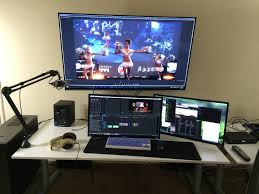 ultimate gaming desk setup gaming video editing setup bestgamesetups com pinterest gaming