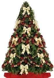 christmas tree bows christmas 101 tree themes ornament christmas tree and
