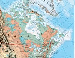 Canada Physical Map Canada Map Map Pictures