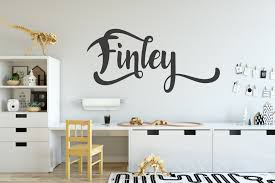 contemporary boys name wall sticker stunning stickers boys name wall sticker
