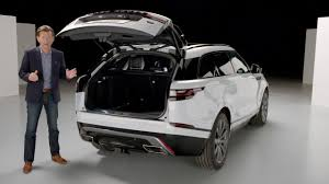 range rover rear range rover velar rear exterior land rover usa youtube