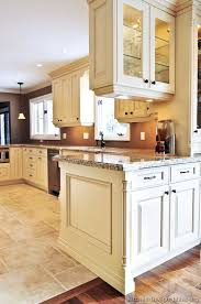 antique white kitchen cabinets traditional antique white kitchen cabinets brown wall color