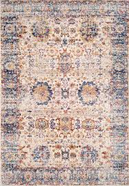lots of lovely blues this is rugs usa u0027s constantinople dn06 hazy