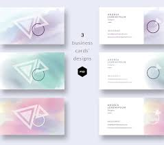 watercolor business cards templates business card templates