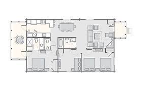 3 bedroom cabin floor plans shenandoah crossing bluegreen vacations