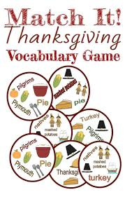 cool thanksgiving cards thanksgiving cards for teacher with vocabulary game card