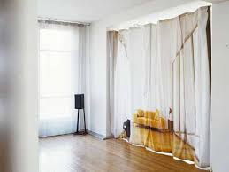 Fabric Room Divider Curtain Room Dividers Diy The Clayton Design Best Regarding