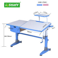 childrens study desk height adjustable desks wooden study table