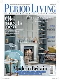period homes interiors magazine december issue insert offer period living