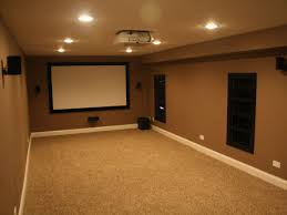 Basement Media Room Turn A Basement Into A Media Room Basement Remodel