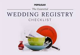 kitchen wedding registry wedding registry checklist popsugar food
