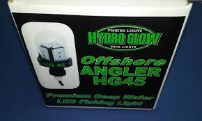 hydro glow fishing lights hydro glow fishing light hg45