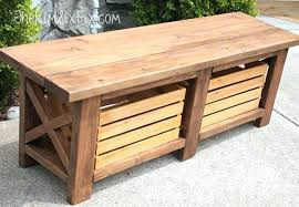 How To Make An Outside Bench Bench Wonderful How To Make An Outdoor Storage Ebay Throughout