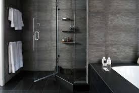 black and grey bathroom ideas adorable black and grey bathroom designs using textured ceramic