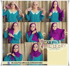 tutorial hijab pesta 2 kerudung out with the old and in with the new elegan pesta tutorial hijab
