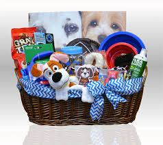 local gift baskets deluxe spa puppy pleaser gift basket gifts azelegant