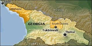 south ossetia map trinicenter the 2008 georgian war