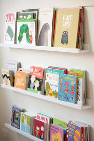Over Door Bookshelf 20 Ways To Use Ikea U0027s Ribba Picture Ledges All Over The House