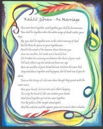 wedding quotes kahlil gibran heartful online on marriage kahlil gibran poster 11x14