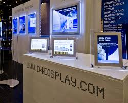 led light boxes wall fixed display stands and tabletop