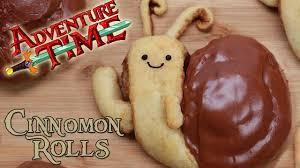 adventure time snail cinnamon rolls nerdy nummies youtube