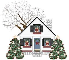 christmas houses animated house free clip free clip on