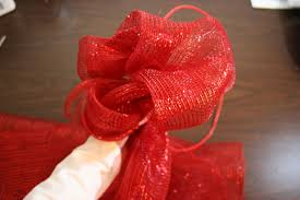 wide mesh ribbon how to make a mesh ribbon wreath chica and jo