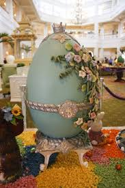 decorated easter eggs for sale outrageously decorated easter eggs on display at grand floridian