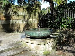 fountain backyard for small spaces