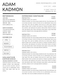 Job Winning Resume by 5 Job Winning Business Resume Templates To Help You Stand Out