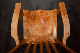hand crafted big leaf maple chairs by dan joseph woodworks