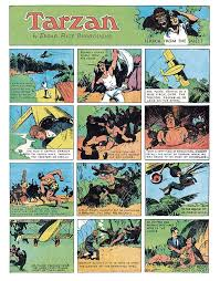 edgar rice burroughs u0027 tarzan sunday comics vol 1 1931 1933