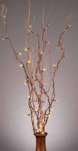pre lit branches lighted branches knot and nest designs