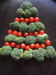 christmas tree shaped vegetable platter appetizer tray u2013 melanie cooks